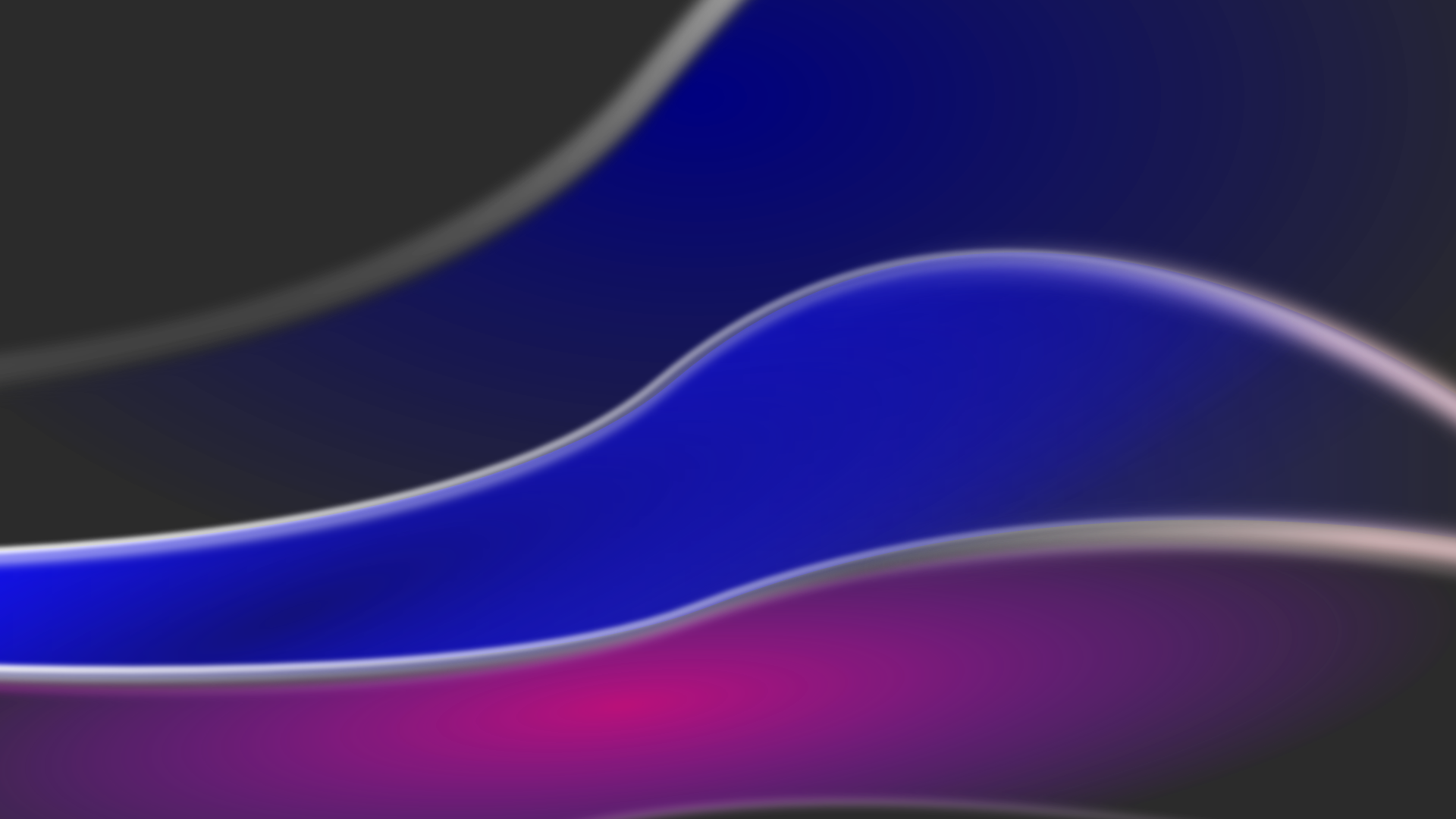 Set neon black waves as site background image