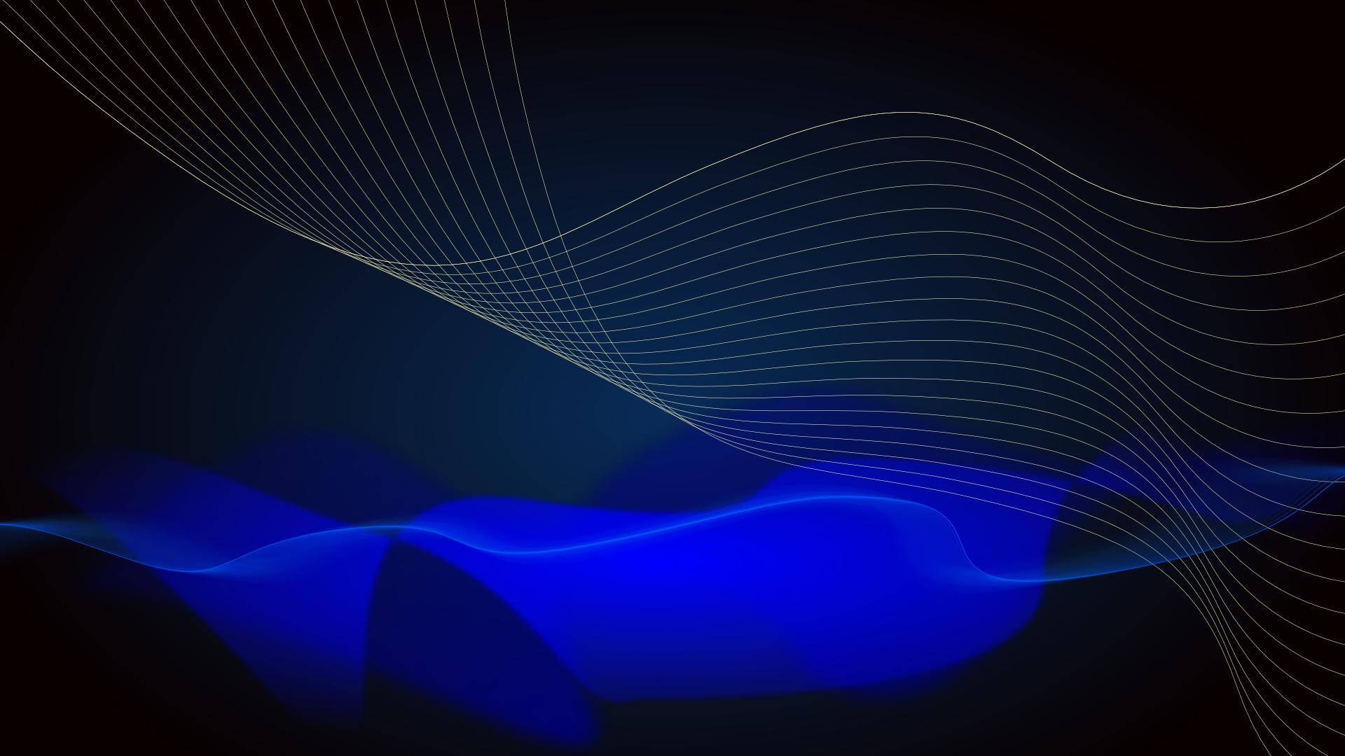 Set blue wave on black as site background image