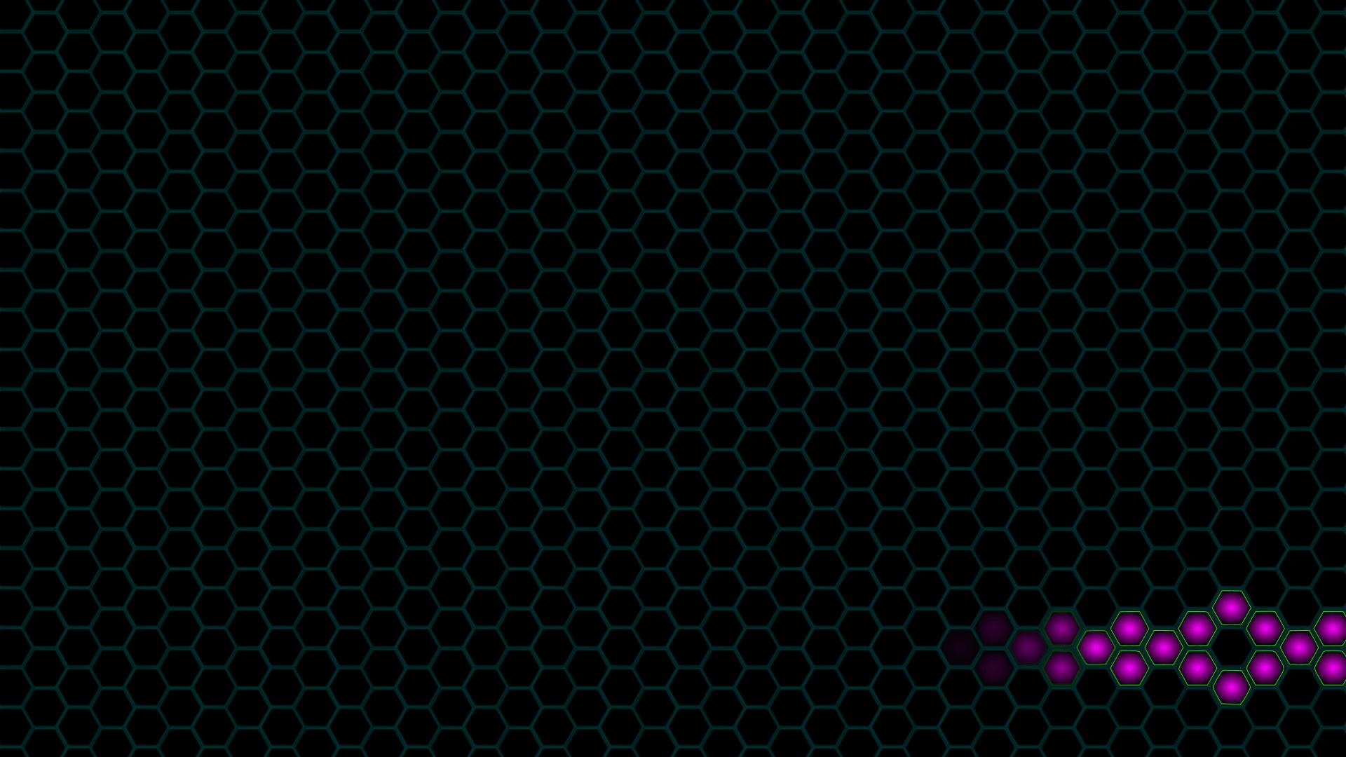 Set dark site hexagon background decoration